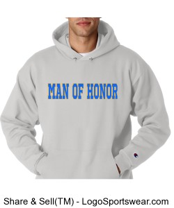 MAN OF HONOR SWEATSHIRT Design Zoom