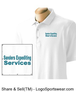 Sanders Expediting Services Polo Design Zoom